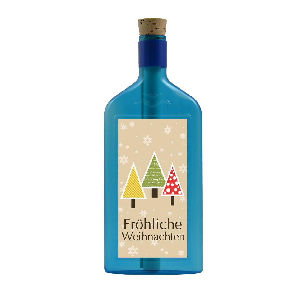 Fröhliche Weihnachten per Flaschengruss
