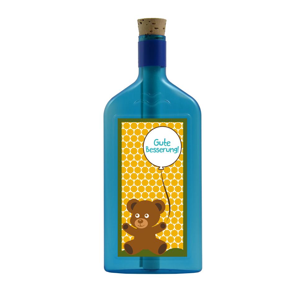 Gute Besserung per Flaschenpost