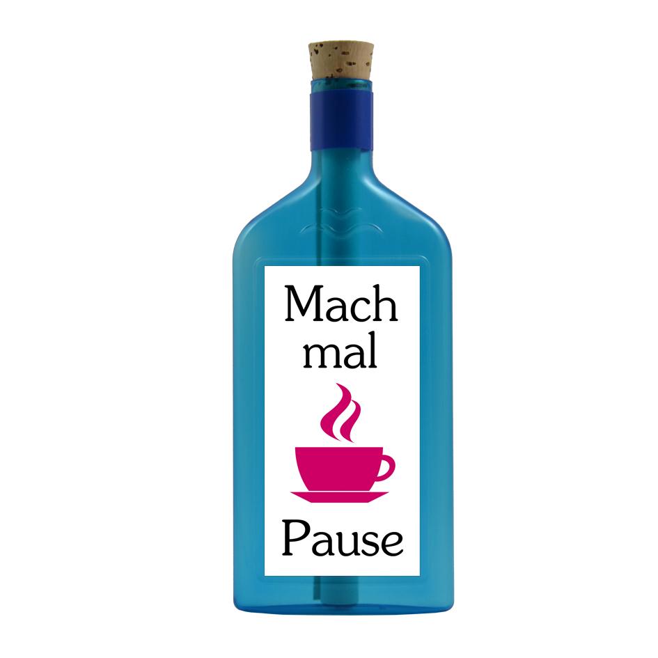 Mach mal Pause per Flaschenpost
