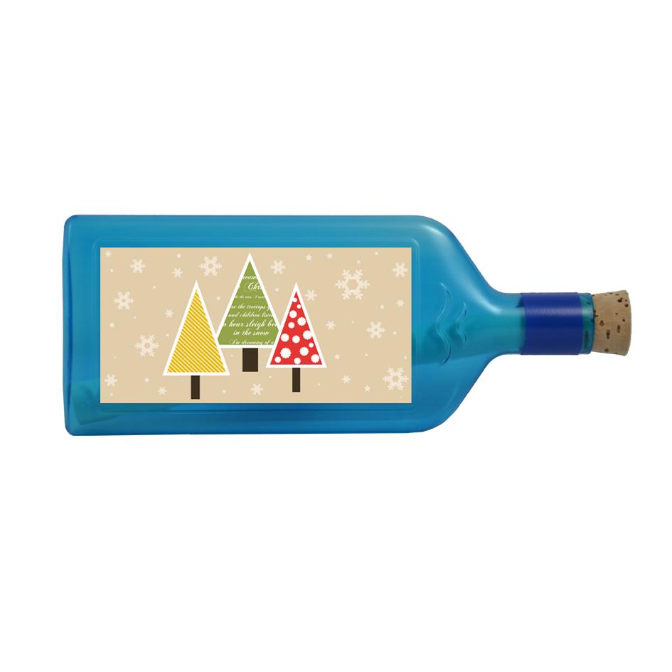 Weihnachtsgrüsse per Flaschenpost