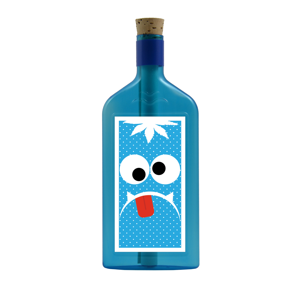 Flaschenpost Monster