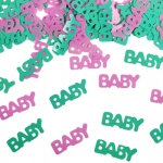 Baby Konfetti als Inhalt für die Flaschenpost
