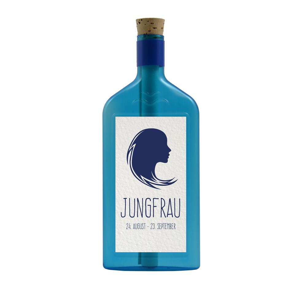 Flaschenpost Sternzeichen Jungfrau